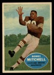 1960 Topps #25  Bobby Mitchell  Front Thumbnail