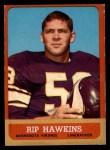 1963 Topps #106  Rip Hawkins  Front Thumbnail