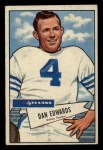 1952 Bowman Small #77  Dan Edwards  Front Thumbnail