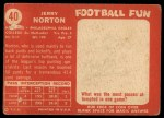 1958 Topps #40  Jerry Norton  Back Thumbnail