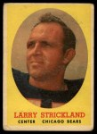 1958 Topps #99  Larry Strickland  Front Thumbnail