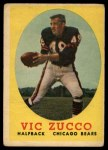 1958 Topps #36  Vic Zucco  Front Thumbnail