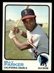 1973 Topps #354  Billy Parker  Front Thumbnail