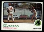 1973 Topps #627  Luis Alvarado  Front Thumbnail