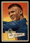 1952 Bowman Small #124  Chet Ostrowski  Front Thumbnail