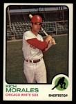 1973 Topps #494  Rich Morales  Front Thumbnail