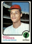 1973 Topps #571  Rusty Torres  Front Thumbnail