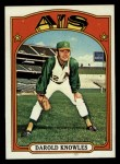 1972 Topps #583  Darold Knowles  Front Thumbnail