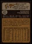 1973 Topps #571  Rusty Torres  Back Thumbnail