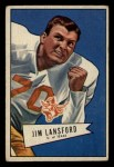 1952 Bowman Small #144  Jim Lansford  Front Thumbnail