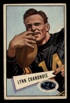 1952 Bowman Small #20  Lynn Chandnois  Front Thumbnail
