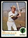1973 Topps #163  Vic Davalillo  Front Thumbnail