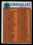 1973 Topps #54   Checklist 1 Front Thumbnail