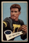 1952 Bowman Small #32  Ray Mathews  Front Thumbnail