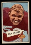 1952 Bowman Small #59  Jack Jennings  Front Thumbnail