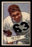 1952 Bowman Small #66  James Clark  Front Thumbnail