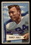 1952 Bowman Small #11  Barney Poole  Front Thumbnail