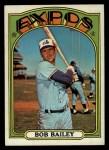 1972 Topps #526  Bob Bailey  Front Thumbnail