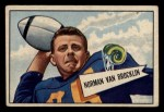 1952 Bowman Small #1  Norman Van Brocklin  Front Thumbnail