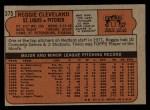 1972 Topps #375  Reggie Cleveland  Back Thumbnail