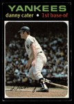 1971 Topps #358  Danny Cater  Front Thumbnail