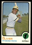 1973 Topps #225  Al Oliver  Front Thumbnail