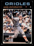 1971 Topps #501  Andy Etchebarren  Front Thumbnail