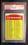 1972 Topps #604 R  Checklist 6 Front Thumbnail