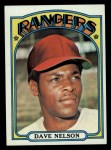 1972 Topps #529  Dave Nelson  Front Thumbnail