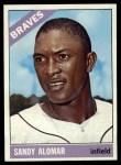 1966 Topps #428  Sandy Alomar  Front Thumbnail