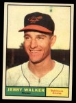 1961 Topps #85  Jerry Walker  Front Thumbnail