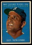 1961 Topps #483   -  Don Newcombe Most Valuable Player Front Thumbnail