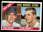 1966 Topps #356   -  Ken Sanders / Owen Johnson Red Sox Rookies Front Thumbnail