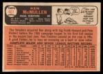 1966 Topps #401  Ken McMullen  Back Thumbnail