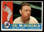 1960 Topps #247  Gil McDougald  Front Thumbnail