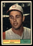 1961 Topps #76  Harry Anderson  Front Thumbnail