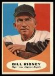 1961 Topps #225  Bill Rigney  Front Thumbnail