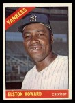 1966 Topps #405  Elston Howard  Front Thumbnail
