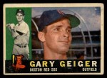 1960 Topps #184  Gary Geiger  Front Thumbnail