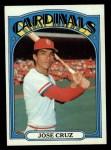 1972 Topps #107  Jose Cruz  Front Thumbnail