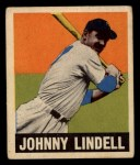 1949 Leaf #82  Johnny Lindell  Front Thumbnail