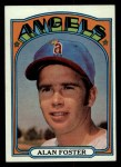 1972 Topps #521  Alan Foster  Front Thumbnail