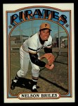 1972 Topps #605  Nelson Briles  Front Thumbnail