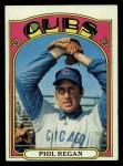 1972 Topps #485  Phil Regan  Front Thumbnail
