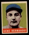 1949 Leaf #102 COR Gene Hermanski  Front Thumbnail