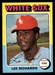 1975 Topps #653  Lee Richard  Front Thumbnail