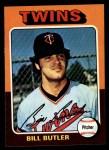 1975 Topps #549  Bill Butler  Front Thumbnail