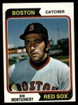 1974 Topps #301  Bob Montgomery  Front Thumbnail