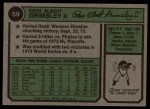 1974 Topps #59  Ross Grimsley  Back Thumbnail