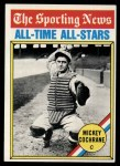 1976 Topps #348   -  Mickey Cochrane All-Time All-Stars Front Thumbnail